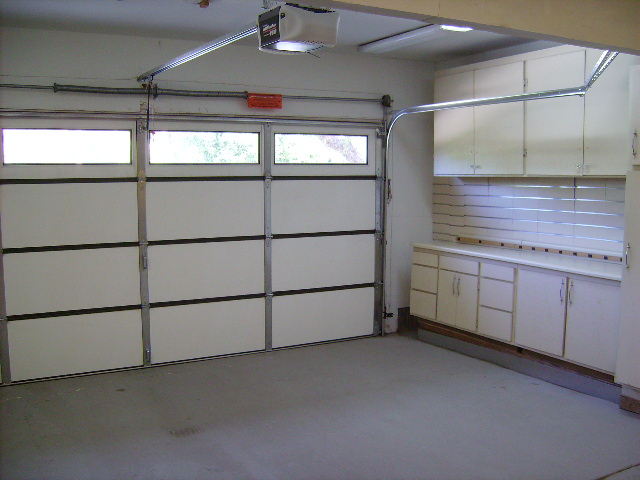 Double Garage with Built Ins