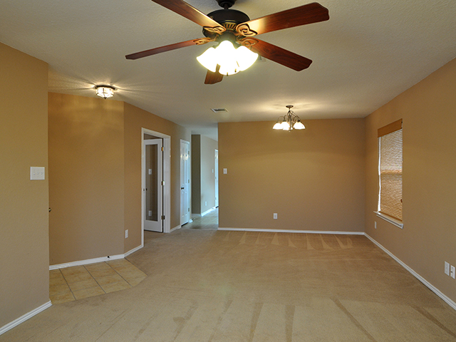Open Living and Formal Dining Area